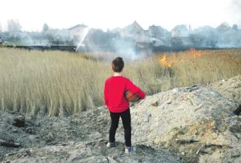 Seniai išpranašautas gaisras