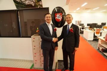 Atidarytas penktasis Lietuvos garbės konsulatas Japonijoje