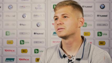 Futbolininkas M. Adamonis: nustebau sulaukęs kvietimo į rinktinę