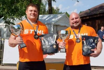 Europos galiūnų taurės varžybose - Ž. Savicko ir V. Blekaičio triumfas
