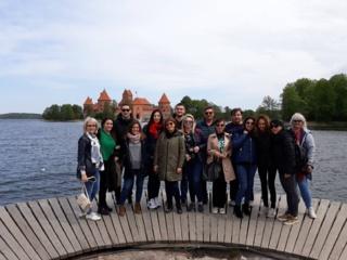 """""""Erasmus+"""" projekto """"Healthy steps to better future"""" susitikimas Lietuvoje"""