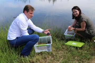 Lazdijų rajono savivaldybėje lankosi aplinkos ministras Kęstutis Mažeika