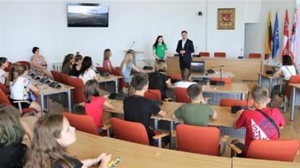 Tauragėje ir šią vasarą stovyklauja vaikai iš Ukrainos