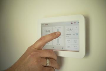 Nustatyta ideali temperatūra biure