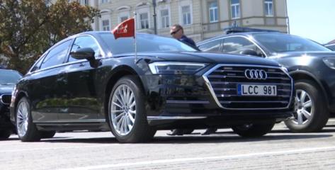 Prezidentas G. Nausėda turi naują automobilį