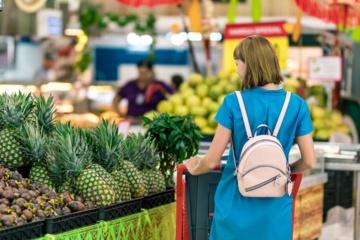 Pigiausių maisto produktų krepšelis liepą pigo