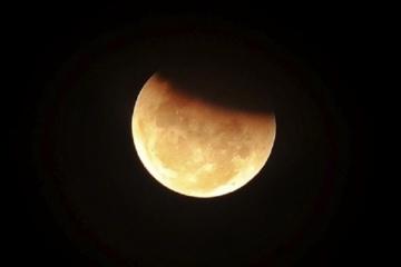 Trečiadienio naktį stebėkite dalinį Mėnulio užtemimą