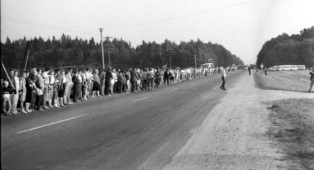 Minint Baltijos kelią bus siekiama sukurti 10 tūkst. žmonių gyvąją grandinę