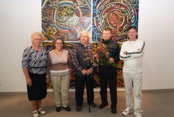 Dailininko Vlado Lisaičio jubiliejinė paroda