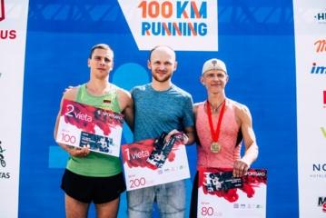 E. Nausėda Tarptautiniame Vilniaus 100 km bėgime liko netoli šalies rekordo