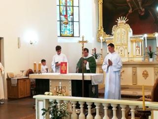 Išlydėjome kunigą Povilą Slaminį
