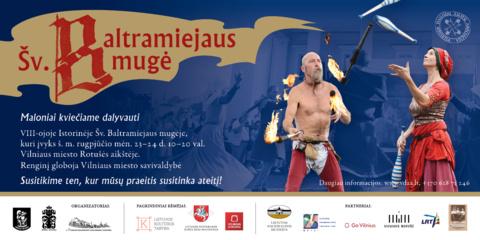 Istorinė Šv. Baltramiejaus mugė 8-ąjį kartą kviečia pažinti viduramžių ir renesanso epochų amatų tradicijas