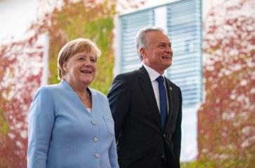 G. Nausėda su A. Merkel aptarė Europos gynybos stiprinimo planus, ekonominius santykius