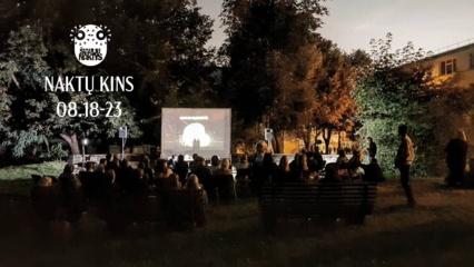 """""""Šiaulių naktys"""" prasideda naktine filmo """"Sengirė"""" peržiūra Botanikos sode"""