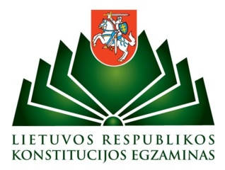 Spalio 3 d. – konstitucijos egzaminas