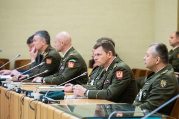 Lietuvos dalyvavimo  tarptautinėse operacijose 25-metis paminėtas konferencija Seime, apžvelgiant pasiekimus ir perspektyvas