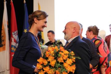 Naujoji liberalų vadovė V. Čmilytė-Nielsen: nebūsiu kokios nors įtakos grupės įkaitė