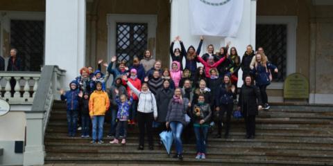 Jaunimas keliavo po Biržų ir Rokiškio kraštą