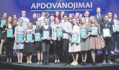 Apdovanoti talentingiausieji
