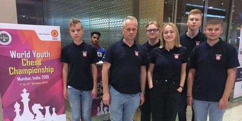 Pasaulio šachmatų čempionate Lietuvai atstovauja jurbarkietis