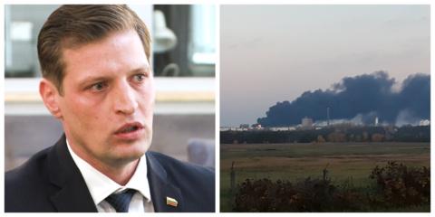 Aplinkos ministras K. Mažeika kreipėsi į prokuratūrą dėl gaisro Alytuje