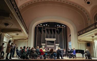 Po rekonstrukcijos atidaryta Nacionalinės filharmonijos didžioji salė