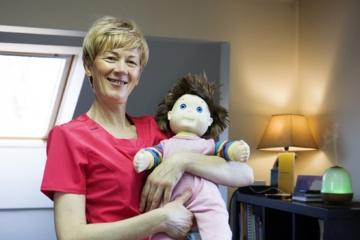 Kūdikių kineziterapeutė – apie mažylių ir tėvų pojūčius