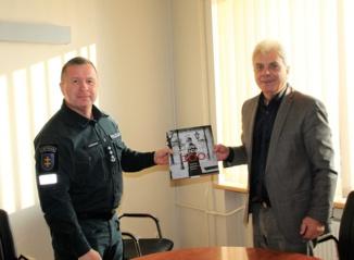 Susitikime su Utenos apskrities vyriausiojo policijos komisariato viršininku