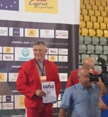 Sambo senjoras iš Alytaus – pasaulio medalininkas