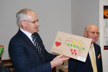 Ministro vizitą Kretingoje aptemdė streiko grėsmė