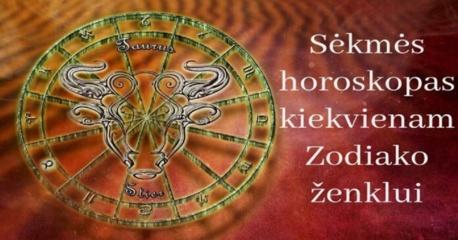 Sėkmės horoskopas kiekvienam Zodiako ženklui. Būtinai perskaitykite
