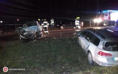 Per savaitę šalies keliuose žuvo 5 žmonės, sužeisti 108
