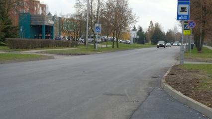 Putinų seniūnaitijoje – atnaujinta asfalto danga!