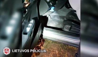Su narkotikais sulaikytas valstybės sienos sergėtojas (vaizdo įrašas)