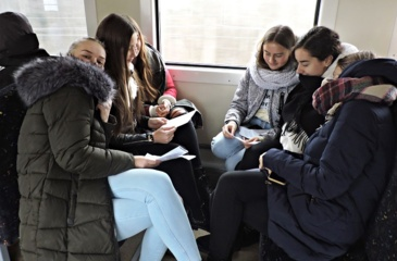 Lietuvių kalbos ir literatūros bei muzikos pamoka netradicinėje erdvėje