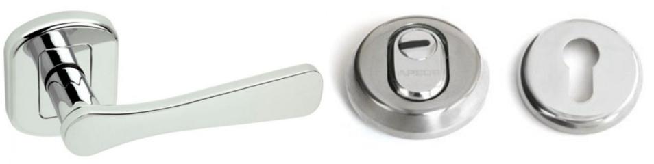 Patvarios ir kokybiškos vidaus durų rankenos