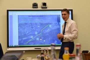 Ministerijoje aptarė aplinkkelio projektą
