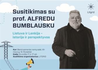 Kviečia į susitikimą su įdomiu pašnekovu – prof. Alfredu Bumblausku