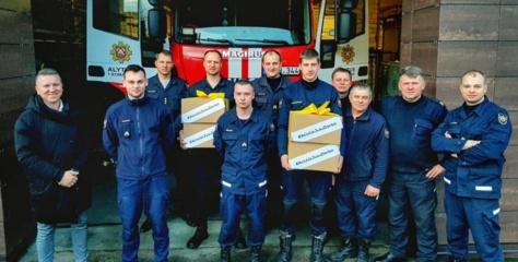 """#AčiūUžJūsųDarbą pradėjo nuo ugniagesių: """"Dėkokime ne tik tada, kai nutinka nelaimė"""""""