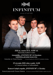 """INFINITUM"" grupės koncertas Šalčininkuose"