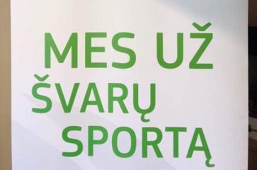 Lietuvos antidopingo agentūra suspendavo keturis trenerius ir du sunkiaatlečius