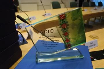 Apdovanojimo popietėje – nuoširdžios padėkos visaginiečiams