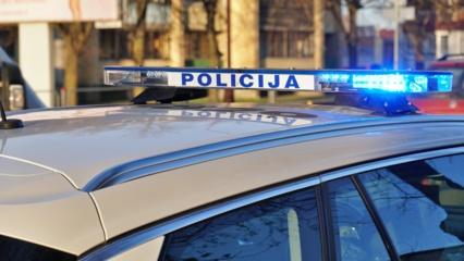 Kalvarijos savivaldybėje kelio ženklą apgadinusiam vyrui pasprukti nepavyko