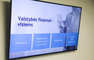 Vienoje sistemoje pradedami skelbti visos šalies viešųjų finansų duomenys