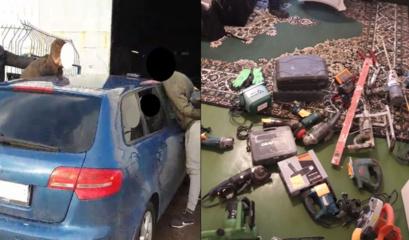 Sulaikyti du vyrai, įtariami vagystėmis Kauno rajone