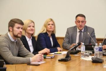 Apie švietimo tinklo pertvarką diskutuota su Švietimo, mokslo ir sporto ministerijos atstovais