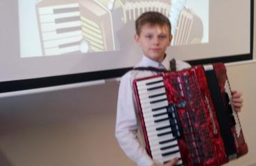 Sostinėje – Panevėžio rajono jaunojo akordeonisto sėkmė