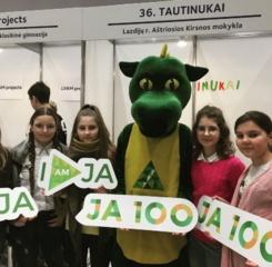 Vilniaus jaunųjų bendrovių mugėje – mokiniai iš Lazdijų rajono