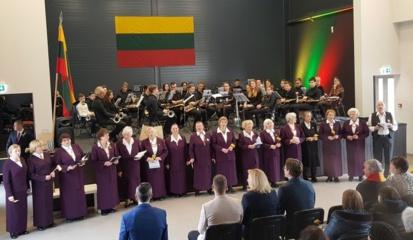 Lietuvos valstybės atkūrimo dienos minėjimas Lentvaryje