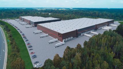 """Kauno rajone baigtas pirmasis """"Kauno logistikos centro"""" statybų etapas, investicijos sieks 30 mln. eurų"""